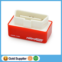 Red Nitro OBD for Diesel Cars Tuning Box Chip High Performance, Plug and Driv OBD2 Chip