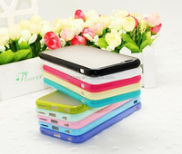 New item frosted arylic tpu&pc protective case cover for iphone6 4.7