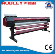 Audley 3.2m DX7 printhead solvent printer,digital large format printing machine