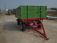 Sunco Factory Machine 8 ton tipping trailer for sale