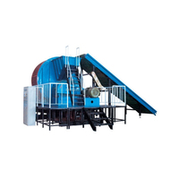Whole Tyre Shredder in used tire reclaim plant for tire crumb