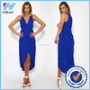 clothing online shopping royal blue color dress clothes women