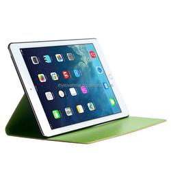Fashion smart wholesale quality pu leather case for apple ipad