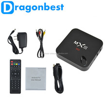 Dragonbest Better Than Mx Mxq,Cheaper Than M8, Android Tv Box Mx3 1G 8G Rom 2.4G/5G Wifi Android Tv Box Quad Core