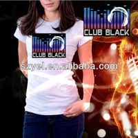 Newest 3D Music Activated EL t shirts online shopping