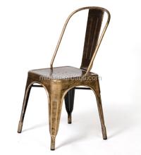 metal tolixe chair/power coated tolixe metal chair