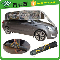 Only 3.18KG easy to pack up easy to fold anti uv folding garage car cover