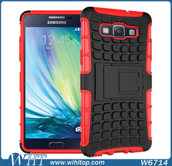 2 in 1 TPU PC Belt Clip Stand Mobile Phone Case Cover for Samsung Galaxy A5