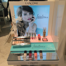 new 2015 high-end custom acrylic cosmetic display picture, cosmetic display rack