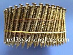 2.5*56mm Varnished Plated Coil Nail