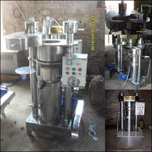 Quality and Quantity Assured Hydraulic Automatic nut & seed oil expeller oil press