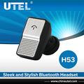 h53 ajuste ergonómico mini auricular inalámbrico bluetooth