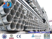 Various Sizes GB ERW Galvanized Steel Pipe, Steel Pipe Unit Weight