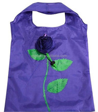 Thickening Portable Cute Rose flower wedding gift Bags Eco Reusable Shopping Bag