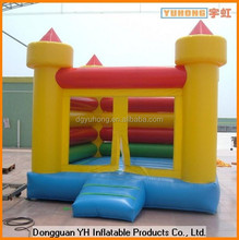 cheap colorful inflatable mini bouncy castle