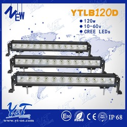Cheap Wholesale waterproof led driving light 120W led auto light bars police light bar for sale