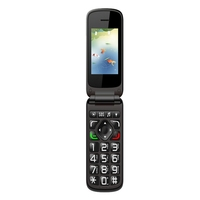 2.4inch VKworld Z2 SC6531 Elder Mobile Phone Dual Sim Cards GSM Big Keyboard Mobile Phone for Elderly