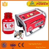 Portable 2kw Gasoline LPG Kerosene Power Generator for Home Use