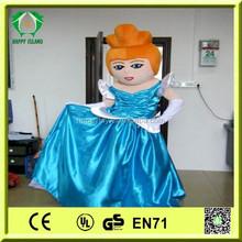 hi ce top vendita Cenerentola cartone animato mascotte costumi