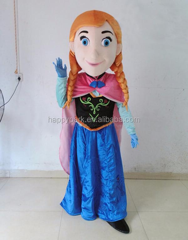 Custom Funny Frozen Mascot Costume Anna Elsa Mascot  sc 1 st  Meningrey & Frozen Mascot Costume - Meningrey