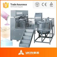 Liquid detergent processing plant, liquid soap mixing machine, daily product emulsifying machine