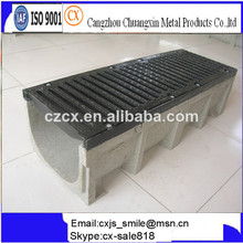 Hormigón polímero canal/flexible del canal de desagüe/concreto de zanjas