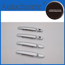 Chrome trim strips, car accessory chrome door handle cover for Toyota Kijang / Qualis / Innova