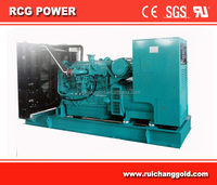 400KW Powered By Original Cummins Engine QSX15G8 Generator