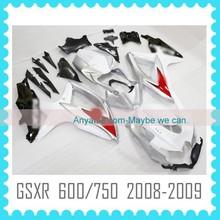 Aftermarket ABS motorcycle Fairing for SUZUKI GSXR 600 750 2008 2009 2010