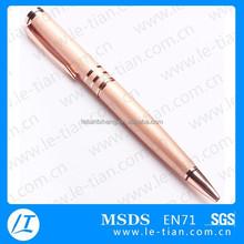 LT-W742 Brass metal pen,Twist ball pen,High quality copper pen