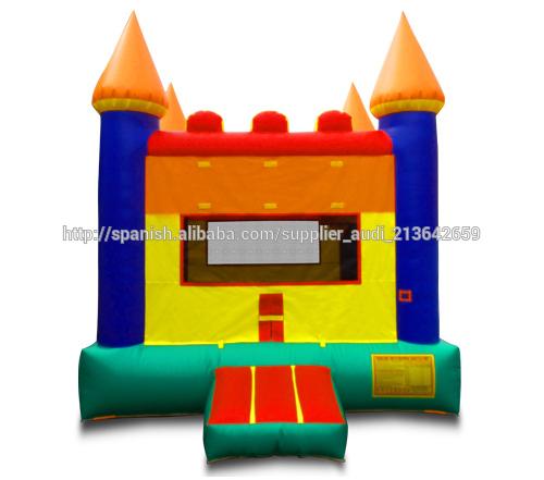 Arco iris Castillo módulo Jumper para niños