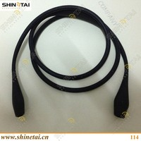 Decorative sport fluorescent rubber sunglasses string