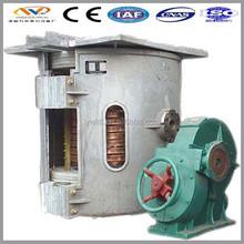 china supplier melting metal crucible furnace for aluminum ingot manufacturer