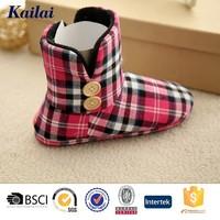 Light red fabric extreme esmara winter boots