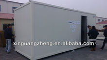 Low cost container housing for general living reducing transportation cost