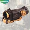 Used at night Shotgun Tactical riflescope 4X Red Green Dot Illumination Reticle Optical Sight Scope