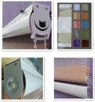 Guangzhou factory new style fabric curtains blinds