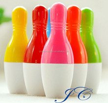 2015 Promotional bowling shaped New office supplier stereoscopic ball pen