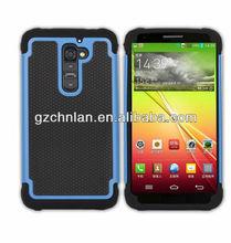 Hot selling football design for lg optimus g2/d802 hybrid hard cellphone case