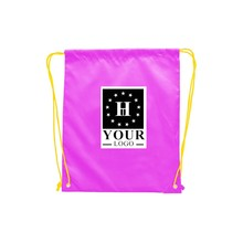 Wholesale Canvas Fabric Design Your Own Drawstring Backpack