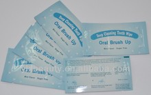 Wholesale teeth whitening finger wipes very convenient to use