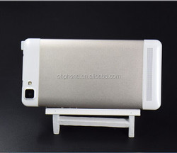 5.5 inch QHD screen Front and Back dual camera android 4.4 mobile phone