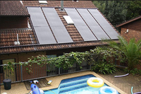 China homemade swimming pool solar heater panels Chemical resistant