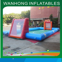 2015 new price inflatable water soccer field inflatable football pitch