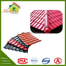 Good quality sound insulation synthetic resin plastic tile roof