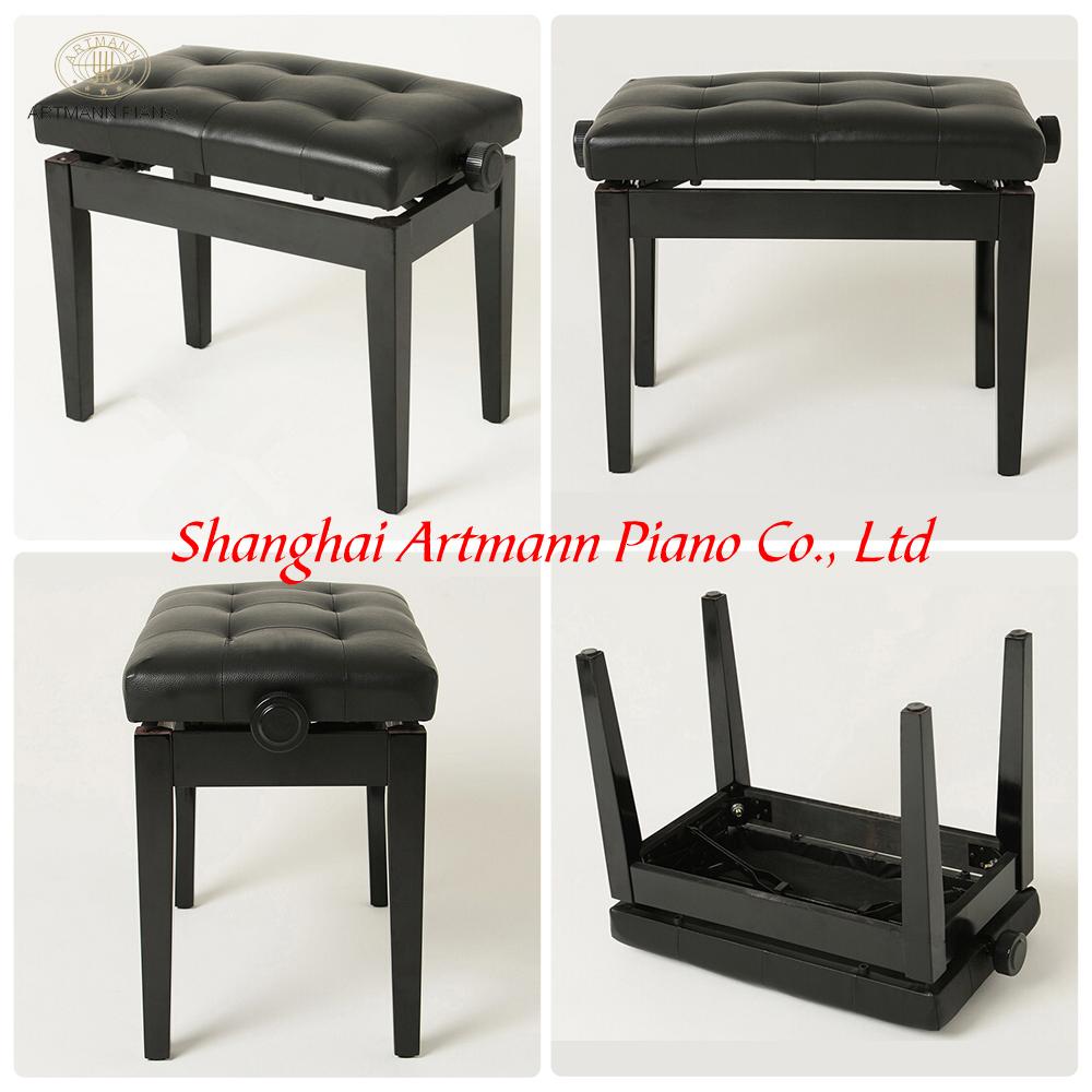 shanghai artmann r glable banc de piano pour upright piano et piano autres instruments de. Black Bedroom Furniture Sets. Home Design Ideas