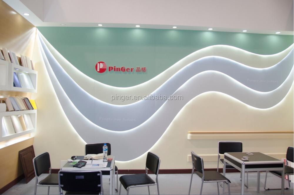 상업 응용 프로그램을 실내 장식 벽 경질 시트 벽 보드-PVC -상품 ...