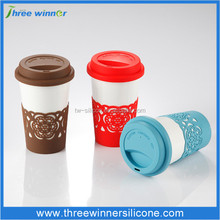 custom coffee cup holder silicone cup holder cup