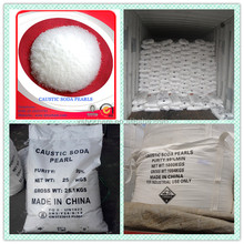 Caustic soda pearls, Sodium hydroxide 99% cas 1310-73-2