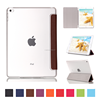 Foldable Stand New Leather Transparent Tablet Cover for Ipad Mini 4 Case